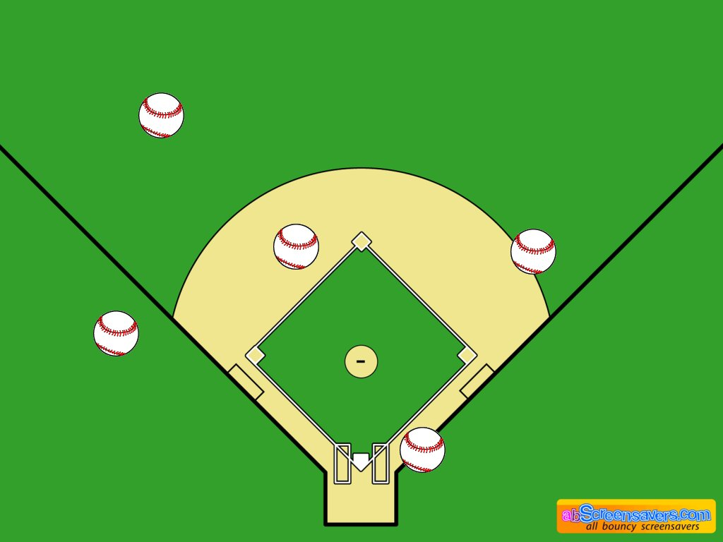 Download freeware Baseball screen saver by abScreensavers.com