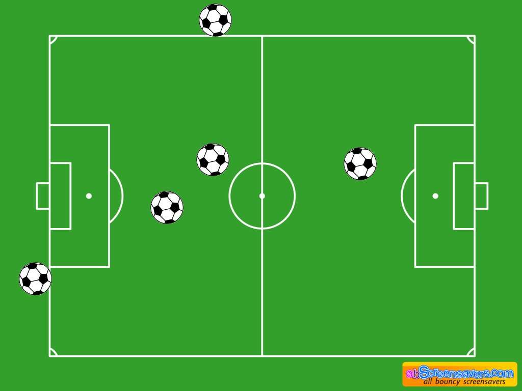Download freeware Football screen saver by abScreensavers.com