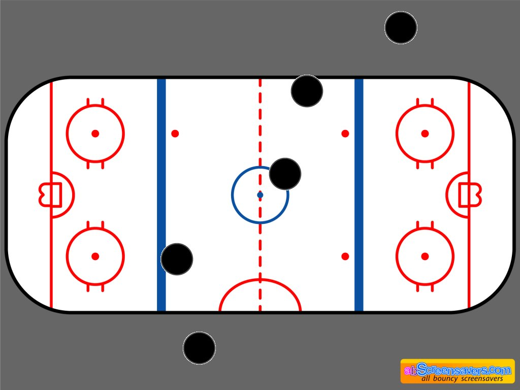 Download freeware Ice hockey screen saver by abScreensavers.com