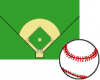 Baseball screen saver