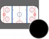 Ice hockey screen saver