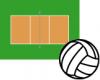 Volleyball screen saver