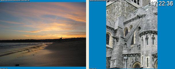 Dual screen Random Photo Screensaver Screenshot